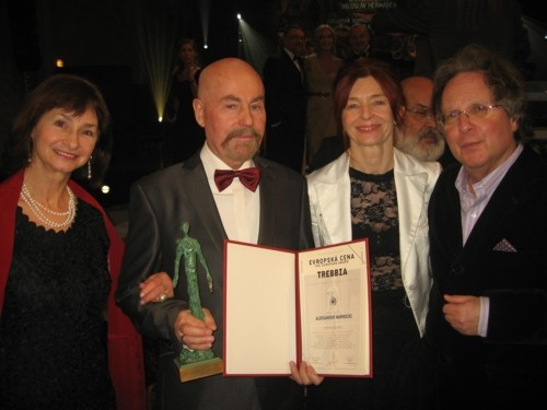 Aleksander Nawrocki laureatem European Award the Trebbia 2011